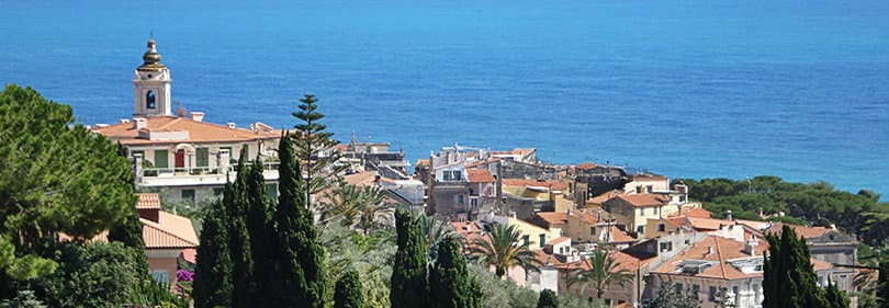 Bordighera en Ligurie