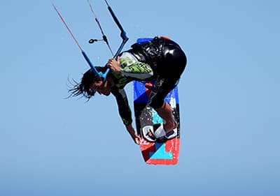 Kite Surf en Ligurie