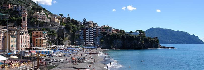 Populaire Les meilleures plages de sable de la province de Gênes, Ligurie PQ31