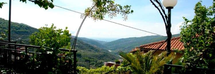 Vacances dans un Agriturismo en Ligurie, dans un vieux moulin à olives