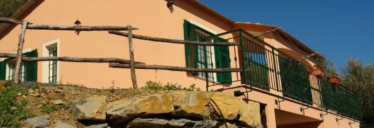 Maison de vacances indépendante en Ligurie, directement auprès des propriétaires, dans un endroit calme et à côté de la plage