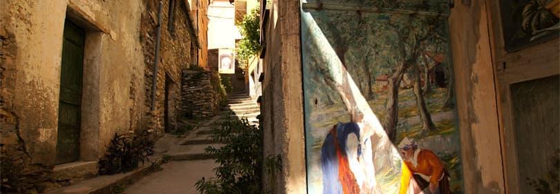 Excursions à Valloria ou d'autres villages, les musées et les parcs de manière parfaite pour découvrir la Ligurie