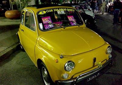 Une bonne recherche Fiat 500 en Ligurie