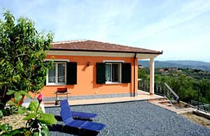 Maison vacances indépendante avec chien et près de la plage en Ligurie