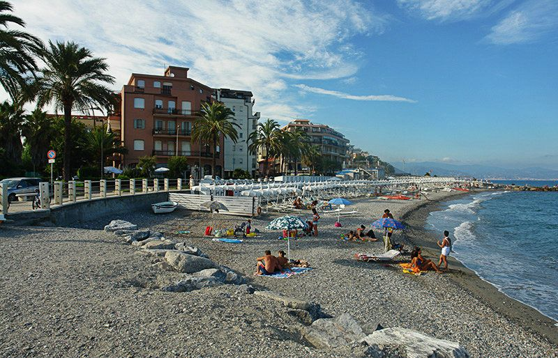Belle vue sur Albenga et sa plage