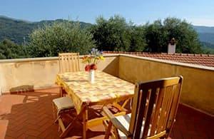 Charmante location vacances pour des vacances avec chien dans un Agriturismo en Ligurie