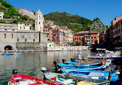 Excursion en bateau à Vernazza, Cinque Terre