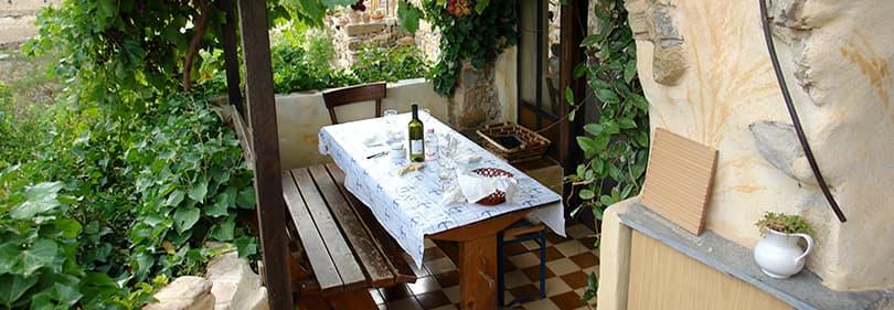 Restaurant à Bussana Vecchia en Ligurie