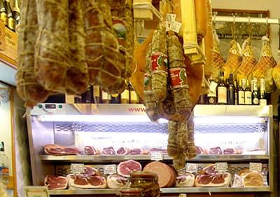 Marchés d'alimentation fraiches en Ligurie