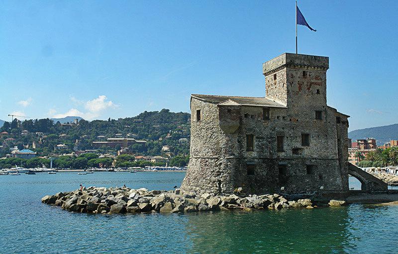 Castello di Rapallo in Ligurië