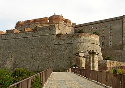Castello Priamar en Savona, Ligurie
