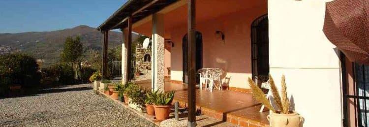 RLouer une location de vacances, Casa Ciserai, directement auprès des propriétaires en Ligurie - dans un endroit calme, avec une grande terrasse