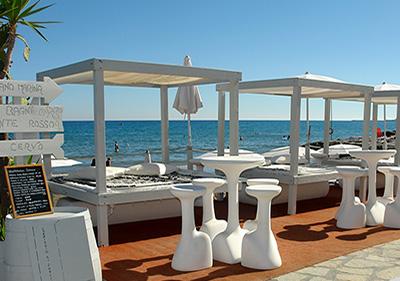 Restaurant par la mer à Diano Marina