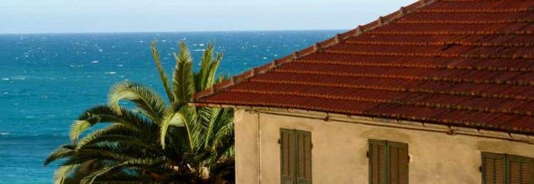 Location de vacances avec vue sur la mer, au coeur de Cervo en Ligurie