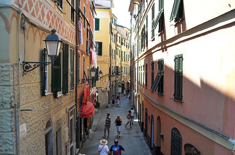 A romantic street of Varazze