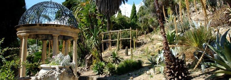 Jardins botaniques Hanbury en Ligurie