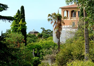 Villa Hanbury a Ventimiglia, Ligurie