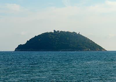 Isola Gallinara près de Albenga