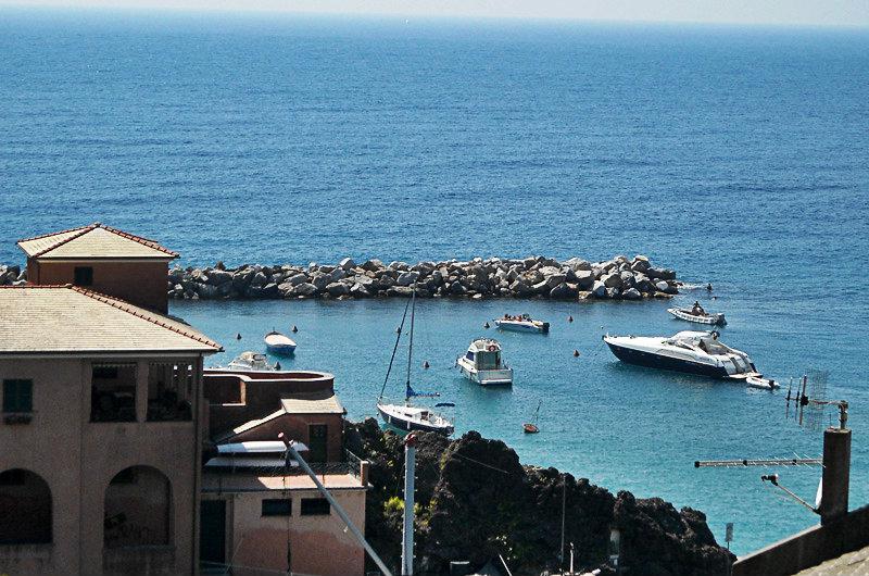 Uitzicht op zee in Levanto