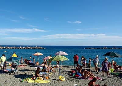 Beaches in Liguria