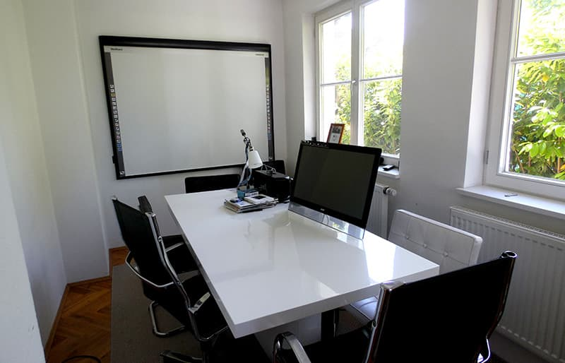 Meeting room at BlumenRiviera GmbH