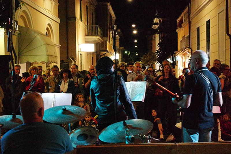 A concert in Diano Marina