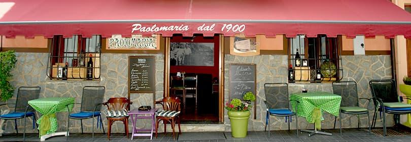 PaoloMaria restaurant en Ligurie