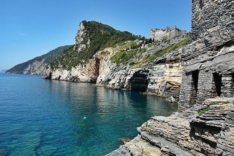 Grotta Byron in Portovenere, Ligurië