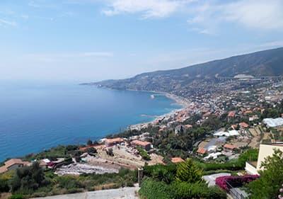 Information sur les 4 provinces de la Ligurie - Imperia, Savone, Gênes et La Spezia