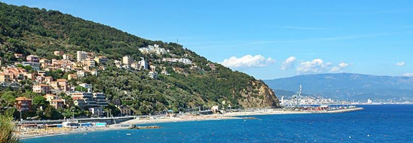 Voir à Bergeggi en Ligurie, Italie