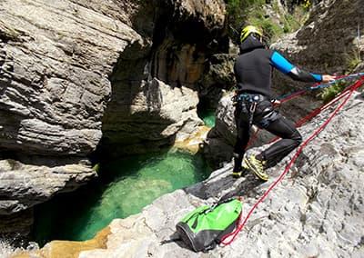 Canyoning en Ligurie