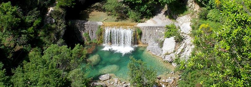Laghetti Rocchetta di Nervina - endroit parfait pour le canyoning