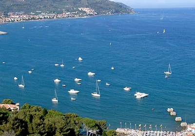 Voile à Diano Marina, Ligurie