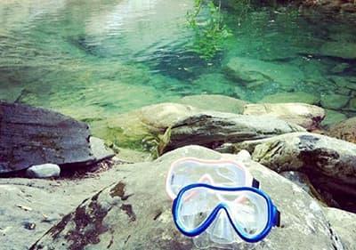 Masques Snorkeling en Ligurie