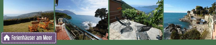 Maisons de vacances et de vacances dans la province de Gênes