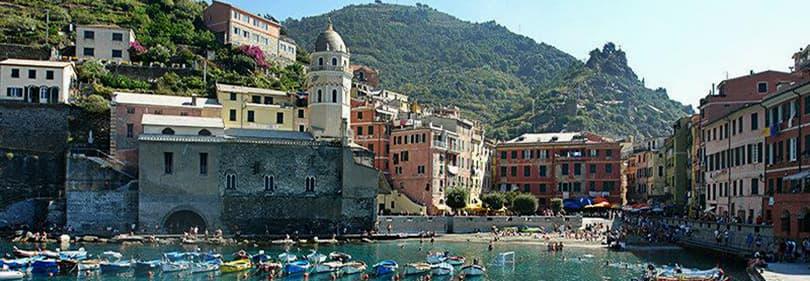 Le port de Vernazza Cinque Terre, Ligurie