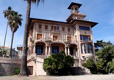 La belle Villa Grock - Museo del Clown in Ligurien