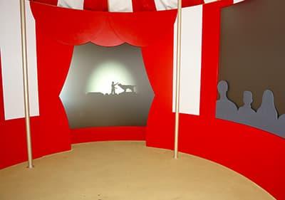 Cirque chambre dans Villa Grock, Ligurie