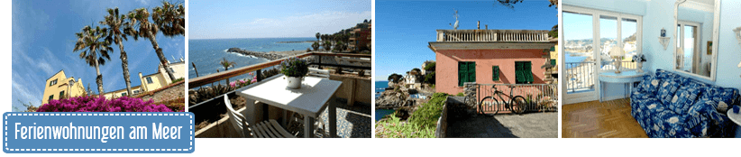 Holidays for your holidays by the sea in Liguria