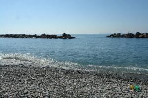 Chiavari plages libres à Ligurie