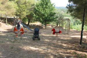 Evigno terrain de jeux à Ligurie