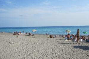 Camporosso plages libres à Ligurie