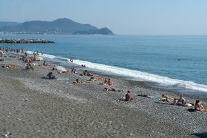 Lavagna plages libres à Ligurie