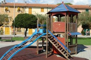 Riva Trigoso terrain de jeux à Ligurie