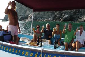 Levanto Bonassola Boat miniexcursions excursion en bateau à Ligurie
