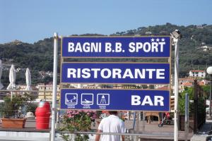 Bagni B.B. Sport Plages à Ligurie
