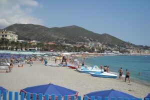 Bagni Teresa Beach-volley à Ligurie