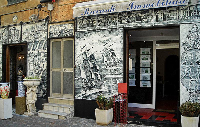 Céramique à Albisola en Ligurie