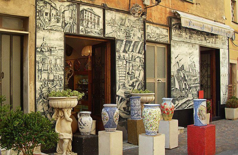 Albisola - un centre de la céramique italienne