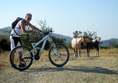 Tour de vélo de montagne Alpicella Monte Beigua à Gênes